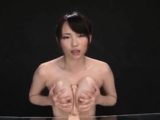 Akane Yoshinaga plays with..