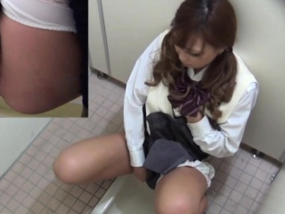 Japanese pissing teen