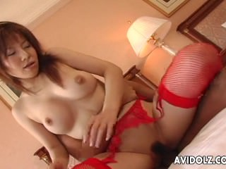 Asian redhead getting fucked..