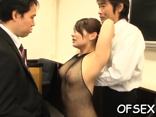 Nude office sugar-daddy gets..