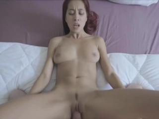 Redhead Asian show one's age..