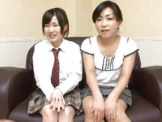 Oil Massage Daughter and Mom-1